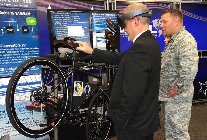 man wearing virtual reality gear
